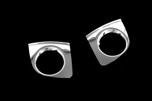 Chrome Front Fog Light Surround Bezel - A6 C5