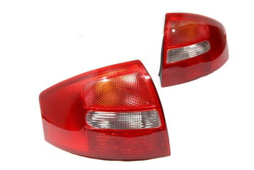 All Red Tail Light Clear Reverse Version - A6 C5