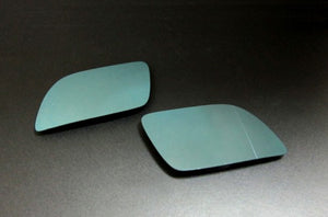 Blue Tinted Aspherical Side Mirror Glass - Polo 9N