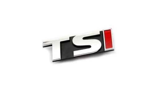 'TSI' Chrome Grille Mount Emblem