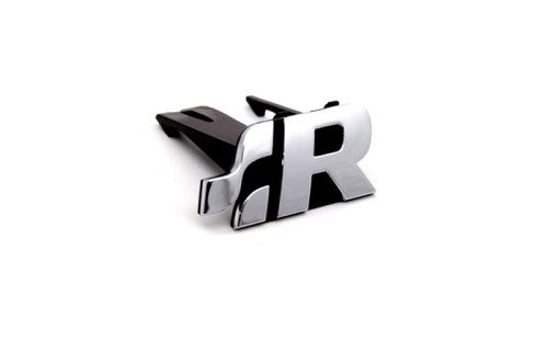 'R' Chrome Grille Mount Emblem