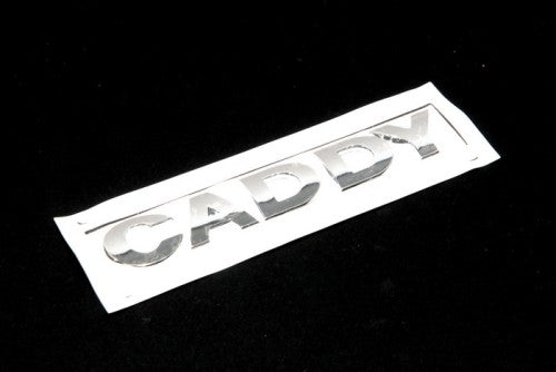 Caddy Rear Chrome Emblem