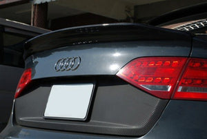 Carbon Fiber Rear Trunk Spoiler - A4 B8