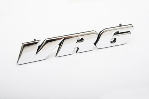 MK3 VR6 (Chrome) Front Grille Mount Badge
