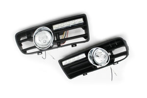 Front Fog Light Kit With LED Day Time Running Light - Golf MK4