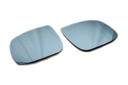 Blue Tinted Aspherical Side Mirror Glass - Q5