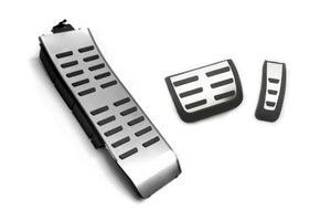 RS Style Stainless Steel Pedal Caps (Auto Transmission) - A4 B8 / A5 8T