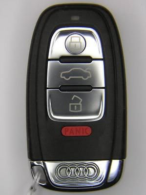 Silicone Keyless Remote Key Skin (Red)
