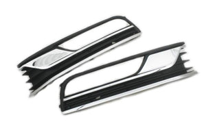 Fog Grille Insert With Chrome Trim - Passat B7