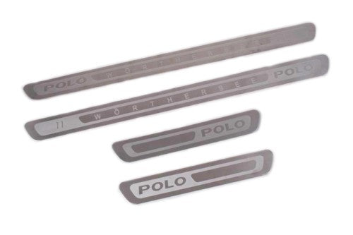 Worthersee Edition Stainless Steel Door Sill Scuff Plate - Polo 6R