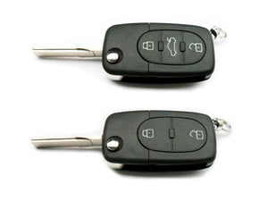 Remote Flip Key Fob Cover (Green) For Audi Early Flip Key Remote