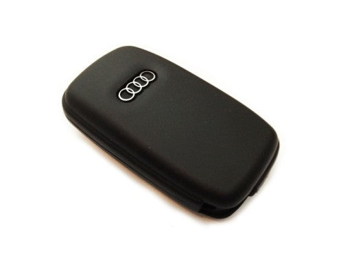 Remote Flip Key Fob Cover (Black) For Audi Early Flip Key Remote