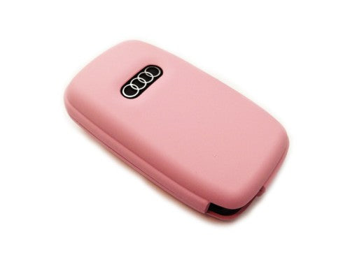 Remote Flip Key Fob Cover (Pink) For Audi Early Flip Key Remote