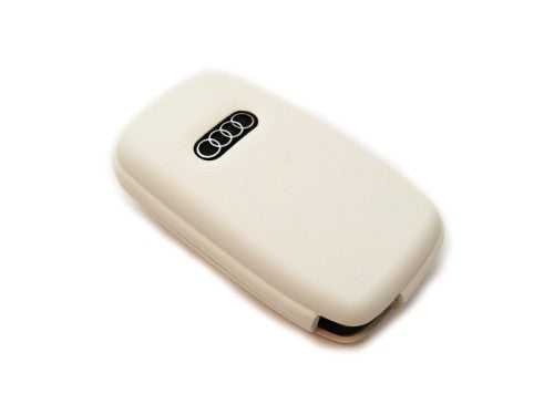 Remote Flip Key Fob Cover (White) For Audi Early Flip Key Remote