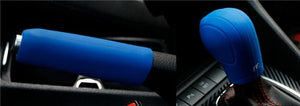 Emergency Brake Handle Silicon Protection Wrap (Blue)