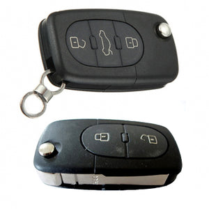 MK4 Oval Key Pad Remote Flip Key Cover (Metallic Red)
