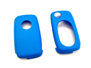 MK4 Oval Key Pad Remote Flip Key Cover (Blue)
