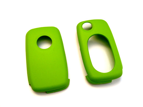 MK4 Oval Key Pad Remote Flip Key Cover (Green)