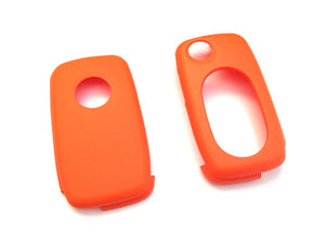 MK4 Oval Key Pad Remote Flip Key Cover (Orange)