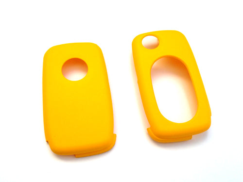 MK4 Oval Key Pad Remote Flip Key Cover (Yellow)