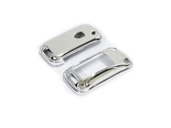 Remote Key Cover (Chrome) For Porsche Cayenne Remote Flip Key