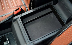 Armrest Console Storage Tray (Black Color) - Tiguan MK1