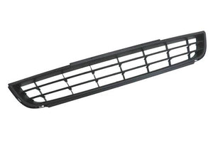Front Middle Lower Grille Insert (Black) - Jetta MK6