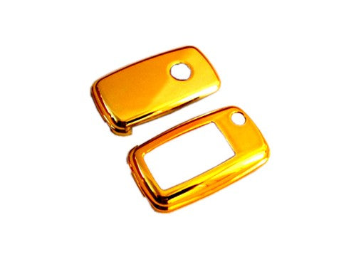 MK6 Remote Key Cover (Gold Plated Chrome)
