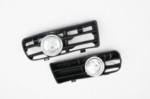 Bumper Grille Front Fog Light Kit With LED Surround