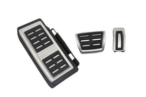 Stainless Steel Automatic Transmission Pedal Set (LHD)