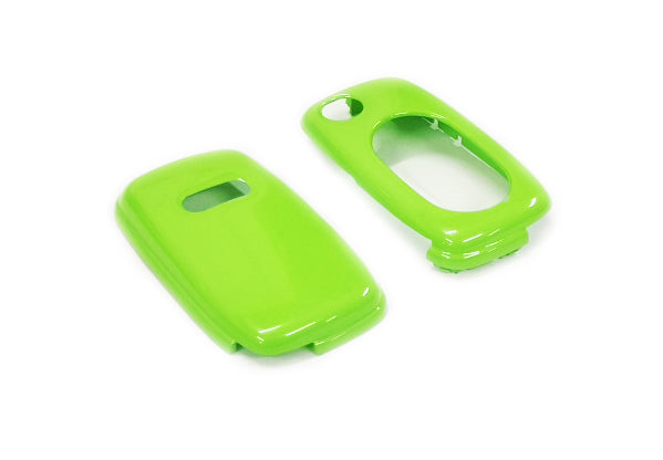 Remote Flip Key Fob Cover For Audi Early Flip Key Remote (Gloss Green)