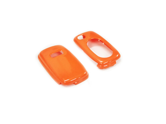 Remote Flip Key Fob Cover For Audi Early Flip Key Remote (Gloss Orange)