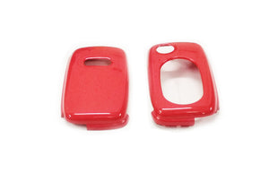 Remote Flip Key Fob Cover For Audi Early Flip Key Remote (Gloss Red)