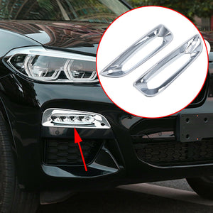 Chrome Front Fog Light Cover - X3 G01
