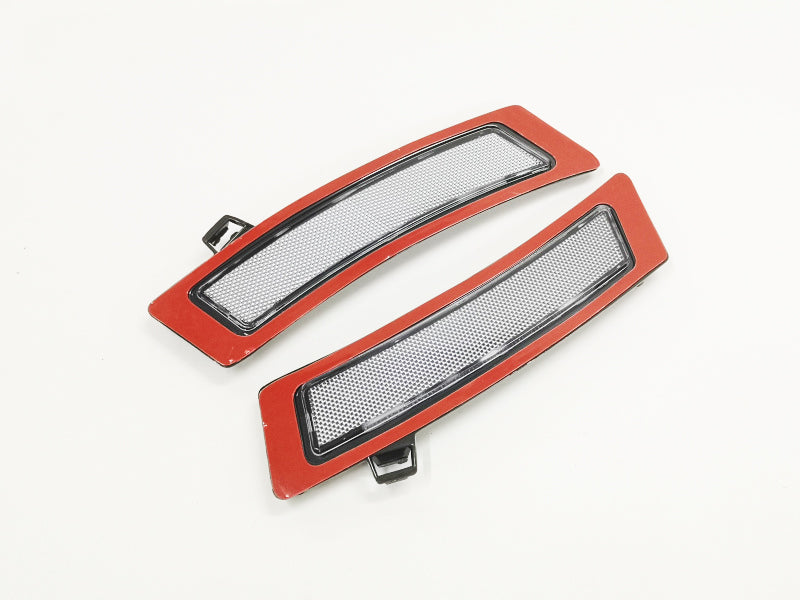 Clear Front Bumper Side Reflector - X5 E70 11-13 LCI