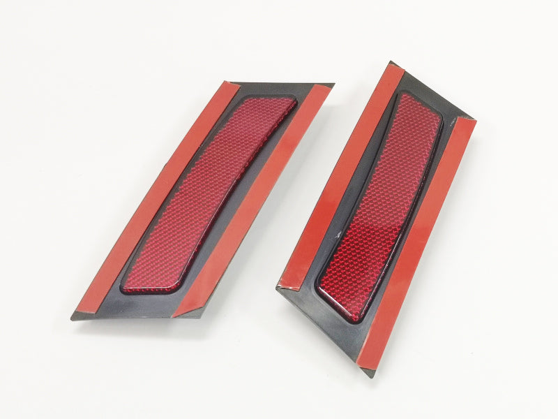 Red Front Bumper Side Reflector - X5 E70 Pre-LCI