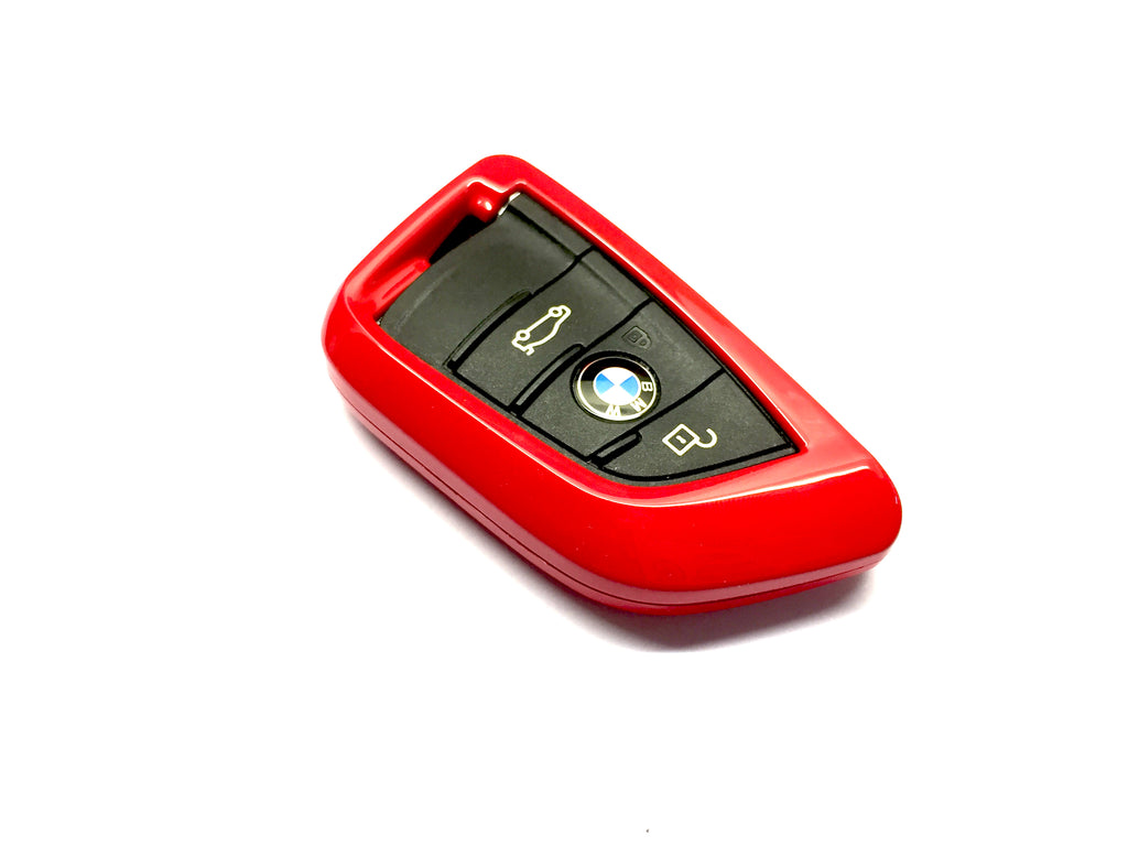 Remote Key Cover (Gloss Red) For BMW Keyless Remote Key