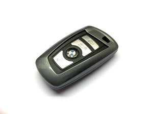 Remote Key Cover (Metallic Grey) For BMW F Series Remote Key