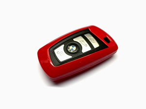 Remote Key Cover (Gloss Red) For BMW F Series Remote Key