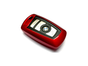 Remote Key Cover (Metallic Red) For BMW F Series Remote Key