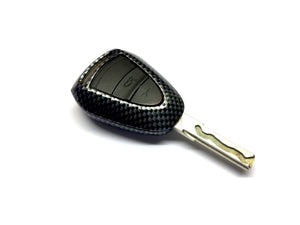 Remote Key Cover (Carbon Fiber) For Porsche 997.2 / 987.2 Black Head Remote Key