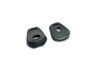 Remote Key Cover (Metallic Grey) For Porsche 996 / 986 One-Button Remote Key