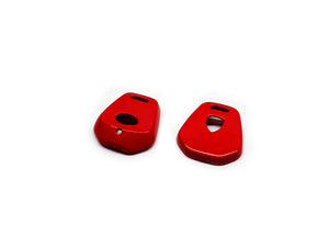 Remote Key Cover (Gloss Red) For Porsche 996 / 986 One-Button Remote Key