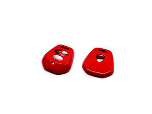 Remote Key Cover (Gloss Red) For Porsche 996 / 986 Three-Button Remote Key