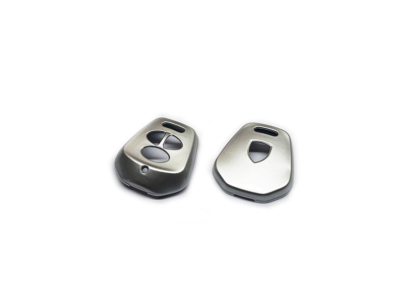 Remote Key Cover (Gloss Silver) For Porsche 996 / 986 Three-Button Remote Key
