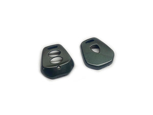 Remote Key Cover (Metallic Grey) For Porsche 996 / 986 Two-Button Remote Key