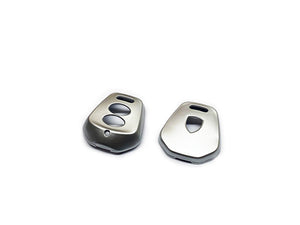 Remote Key Cover (Gloss Silver) For Porsche 996 / 986 Two-Button Remote Key