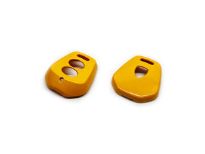 Remote Key Cover (Gloss Yellow) For Porsche 996 / 986 Two-Button Remote Key