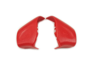 Red Color Steering Wheel Horn Replacement Cap Cover - Golf / Jetta MK3