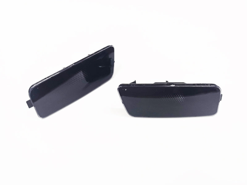 Smooth Black Front Bumper Side Marker - Golf MK6 / Jetta Sportswagen